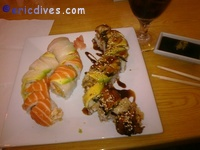 Jason's Roll and Dragon Roll
